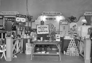 The Original Health Food Store Booth