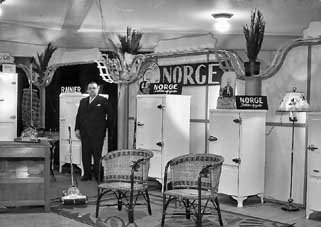 the Norge Booth