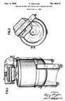 Henry Dreyfuss Washer Patent D-90,616