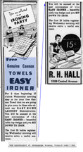 1938 ad for the Easy Ironer