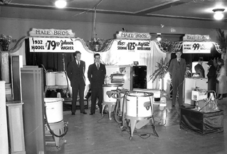 The Hale Brothers Booth, Johnson Washers and Majestic Refrigerators