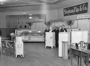 Sherman, Clay and Company dealers in Kelvinator Refrigerators