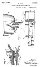 Johnson Washer Driver Patent No. 1,641,770