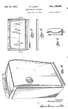 Raymond Loewy Refrigerator Design for Sears, Patent D-127,829