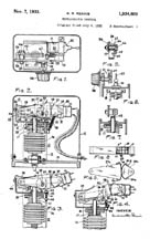 Miracle Thermostat Patent 1934609