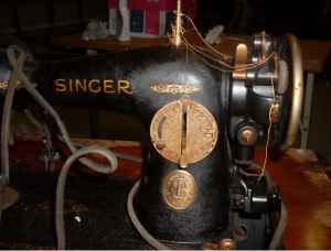 The 1932 Singer Sewing Machine