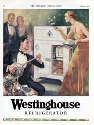 Westinghouse Refrigerator Ad - Snob Appeal