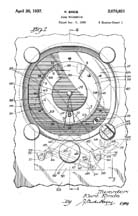 Shutter Dial Patent Drawing No. 2,078,031