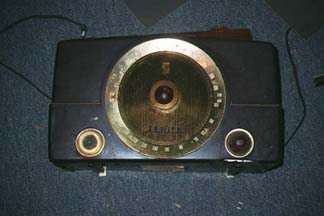 Zenith Model H725 Radio, Before