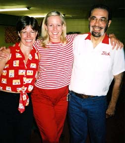 Tracy, Tricia and Frank