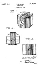 The Baby Brownie Patent D- 92,830
