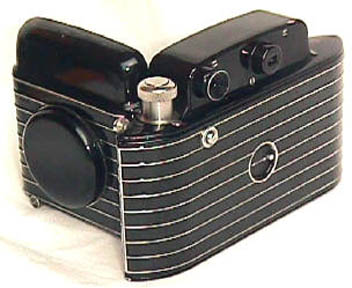 The Kodak Bantam (Front View Open)