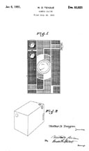 The Beau Brownie Patent D- 83,021