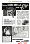 1938 Ad for the Kodak Bantam
