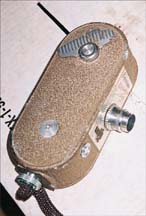 Keystone K-29 Movie Camera, side