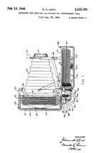 Edwin Land Polaroid Camera Patent No.2,435,720