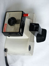 The Polaroid Swinger Camera
