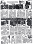 Sears Catalogue Camera ad from 1939