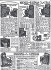 Sears Catalogue Camera ad from 1930