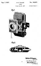 Walter Dorwin Teague Patent for the Kodak Retina D-105,793