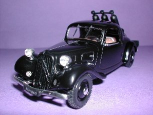 Gazogene Powered Citroen Traction Limousine