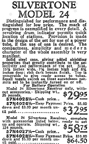1929 Sears Catalogue Radio Ads -- the fine print