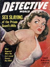 Detective World Oct 1949 cover