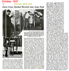 Popular Mechanics Oct 1937 article on Blended Gasoline