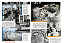 All electric farming Popular mechanics September 1939