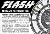 Flash tuning on high end 1937 Sears Silvertone Consoles