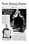 Popular mechanics article on food from wood