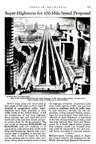 100 mph highways May 1938 issue of Popular Mechanics