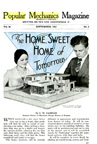 House of the Future Article in September, 1932 issue of Popular mechanics