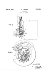 Gates Patent No. 1944554 for the Dial on the Silvertone M-1670  Radio
