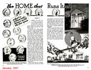Home that runs itself Popular Mechanics  January 1937