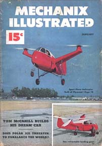 Mechanix Illustrated January 1949 Cover