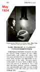 article from May 1934 issue of Popular mechanics on mercury vapor lamps