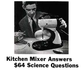 Using the Mixmaster for Science