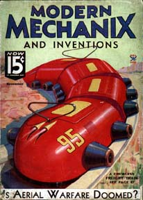 Modern Mechanix Nov 1934 cover
