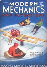 Modern Mechanics Jan 1931 cover