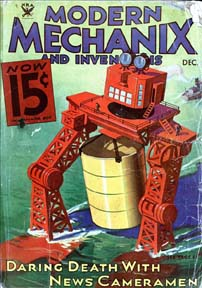 Modern Mechanix Dec 1932 cover