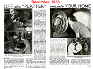 article on recording technology in the 1930s