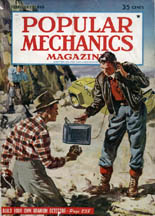 February, 1949 Cover of Popular Mechanics