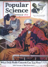 Popular Science March 1922 cover