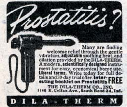 vibrator as cure for Prostatitis