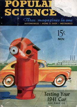 Popular Science November 1940 Cover