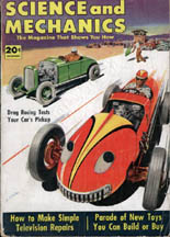 Science and Mechanics Dec 1952 cover