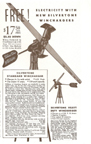 1935 Ad for Sears wind generator