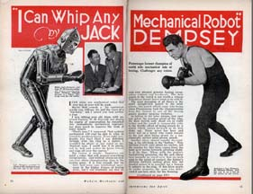 Jack Dempsey Takes on the Robots