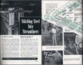 Popular Science article on building streamlined railcars